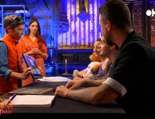 Gabriel, star de la magie sur France TV